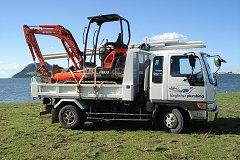 Kingfisher Plumbing Truck